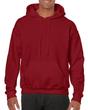 Men's Hooded Sweatshirt (Cardinal Red)