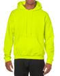 Men's Hooded Sweatshirt (Safety Green)