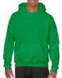 Men's Hooded Sweatshirt (Irish Green)