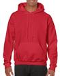 Men's Hooded Sweatshirt (Red)