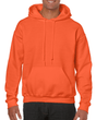 Men's Hooded Sweatshirt (Orange)