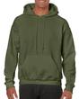 Men's Hooded Sweatshirt (Military Green)