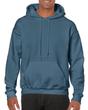 Men's Hooded Sweatshirt (Indigo Blue)