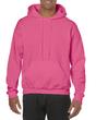 Men's Hooded Sweatshirt (Safety Pink)