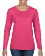 Women's Classic Long Sleeve T-Shirt (Heliconia)