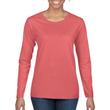 Women's Classic Long Sleeve T-Shirt (Coral Silk)
