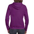 Women's Full Zip Hooded Sweatshirt (Aubergine)