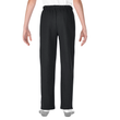 Youth Open Bottom Pocketed Sweatpant (Black)