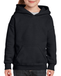 Youth Pullover Hooded Sweatshirt (Black)