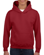 Youth Pullover Hooded Sweatshirt (Cardinal Red)