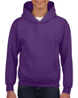 Youth Pullover Hooded Sweatshirt (Purple)