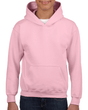 Youth Pullover Hooded Sweatshirt (Light Pink)