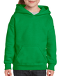 Youth Pullover Hooded Sweatshirt (Irish Green)