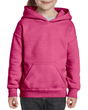 Youth Pullover Hooded Sweatshirt (Safety Pink)