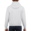 Youth Pullover Hooded Sweatshirt (White)