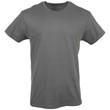 Men's Crew T-Shirt (Navy/Charcoal/Red)