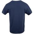 Men's V-Neck T-Shirt (Navy/Charcoal/Red)
