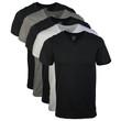 Men's V-Neck T-Shirt(Assorted Black/Grey)
