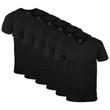 Men's V-Neck T-Shirt (Black)