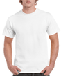 Men's Ultra Cotton Adult T-Shirt (White)
