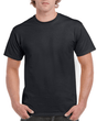 Men's Ultra Cotton Adult T-Shirt (Black)