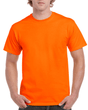 Men's Ultra Cotton Adult T-Shirt (Safety Orange)