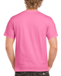 Men's Ultra Cotton Adult T-Shirt (Safety Pink)