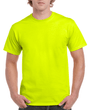 Men's Ultra Cotton Adult T-Shirt (Safety Green)