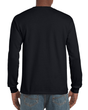 Men's Ultra Cotton Adult Long Sleeve T-Shirt (Black)