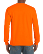 Men's Ultra Cotton Adult Long Sleeve T-Shirt (Safety Orange)