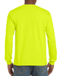 Men's Ultra Cotton Adult Long Sleeve T-Shirt (Safety Green)