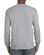 Men's Ultra Cotton Adult Long Sleeve T-Shirt (Sport Grey)