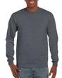 Men's Ultra Cotton Adult Long Sleeve T-Shirt (Dark Heather)