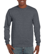 Men's Ultra Cotton Adult Long Sleeve T-Shirt (Dark Heather)