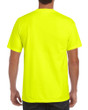 Men's DryBlend Workwear T-Shirts with Pocket (Safety Green)