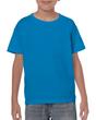 Kids'  Ultra Cotton T-Shirt (Sapphire)