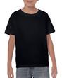 Kids' Heavy Cotton T-Shirt (Black)