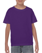 Kids' Heavy Cotton T-Shirt (Purple)