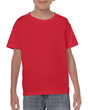 Kids' Heavy Cotton T-Shirt (Red)