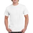 Men's Heavy Cotton Adult T-Shirt (White)