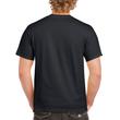 Men's Heavy Cotton Adult T-Shirt (Black)