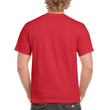 Men's Heavy Cotton Adult T-Shirt (Red)