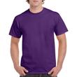 Men's Heavy Cotton Adult T-Shirt (Purple)