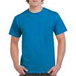 Men's Heavy Cotton Adult T-Shirt (Sapphire)