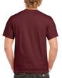 Men's Heavy Cotton Adult T-Shirt (Maroon)