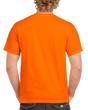 Men's Heavy Cotton Adult T-Shirt (Safety Orange)
