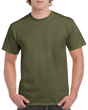 Men's Heavy Cotton Adult T-Shirt (Military Green)