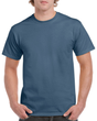 Men's Heavy Cotton Adult T-Shirt (Indigo Blue)
