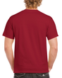 Men's Heavy Cotton Adult T-Shirt (Cardinal Red)