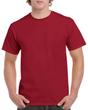 Men's Heavy Cotton Adult T-Shirt (Cardinal Red)
